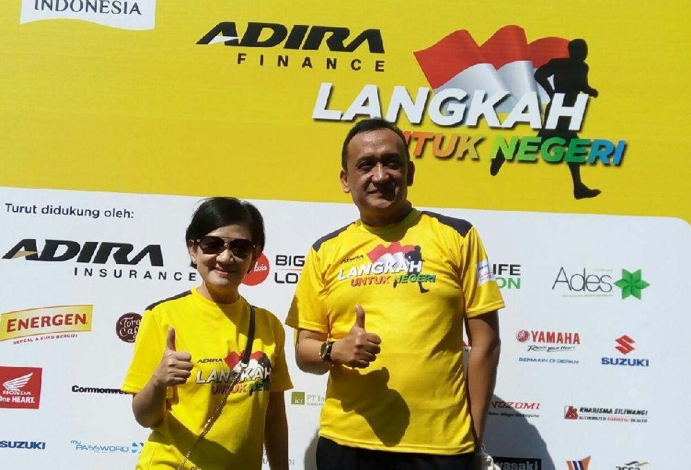 infotaimen Kegembiraan Perayaan HUT Ke 27 Adira Finance di Bandung...!